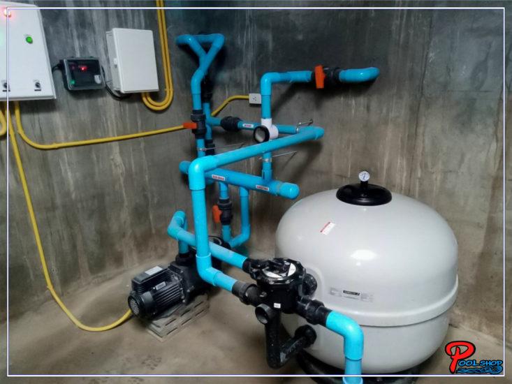 pool chlorine system